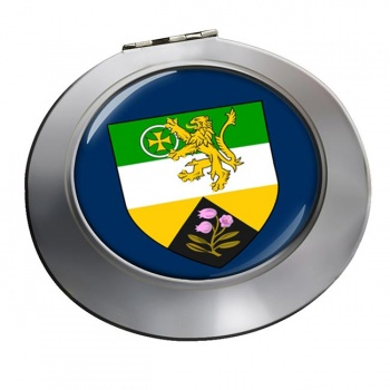County Offaly (Ireland) Round Mirror
