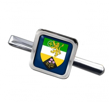 County Offaly (Ireland) Square Tie Clip