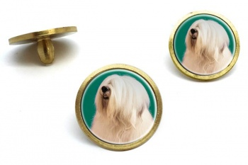 Old English Sheepdog  Golf Ball Marker Set