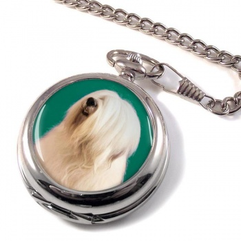 Old English Sheepdog Pocket Watch