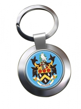 Oldham (England) Metal Key Ring