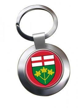 Ontario (Canada) Metal Key Ring
