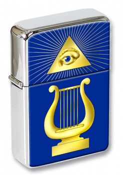 Masonic Lodge Organist Flip Top Lighter