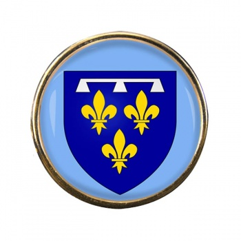 Orleanais (France) Round Pin Badge