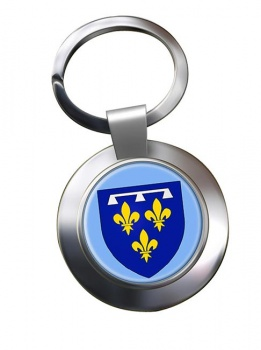 Orleanais (France) Metal Key Ring
