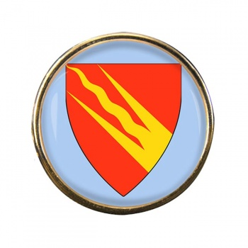 ᆵstfold (Norway) Round Pin Badge