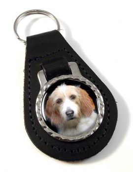 Otterhound Leather Key Fob