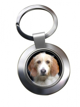 Otterhound Metal Key Ring