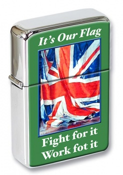 Its Our Flag War Poster Flip Top Lighter