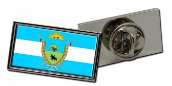 Argentine La Pampa Province Flag Pin Badge