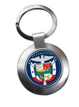 Panama Metal Key Ring