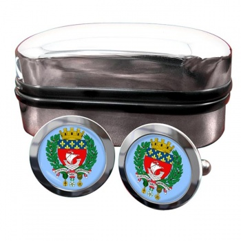 Paris (France) Crest Cufflinks