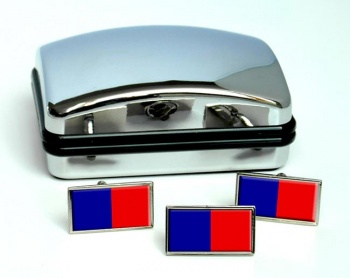Paris (France) Flag Cufflink and Tie Pin Set