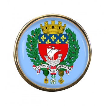 Paris (France) Round Pin Badge