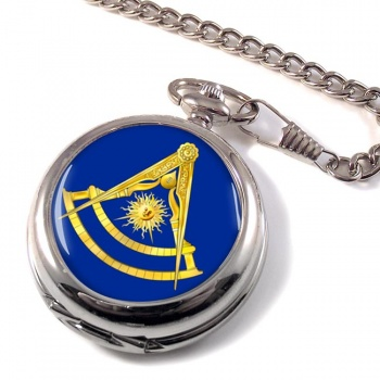 Masonic Lodge Past Master Pocket Watch