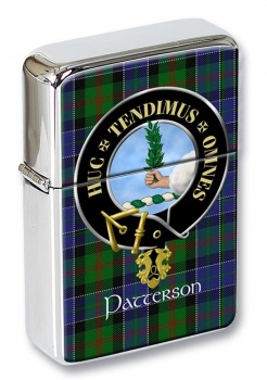 Patterson Scottish Clan Flip Top Lighter