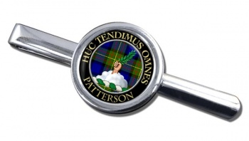 Patterson Scottish Clan Round Tie Clip