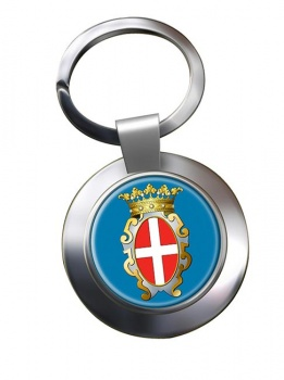 Pavia (Italy) Metal Key Ring