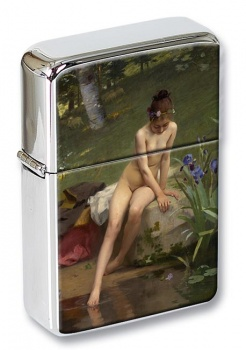 The Little Shepherdess by Peel Flip Top Lighter