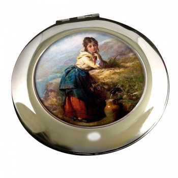 A Mountain Lassie by Pelham Round Mirror
