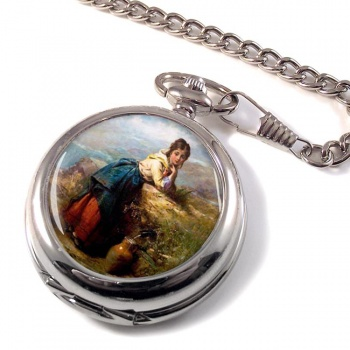 A Mountain Lassie by Pelham Pocket Watch
