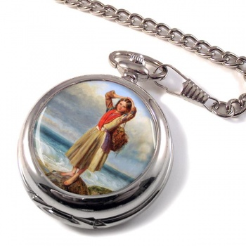 The Mussel Gatherer by Pelham Pocket Watch
