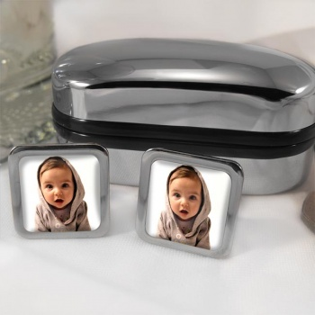 Your Child Square Cufflinks