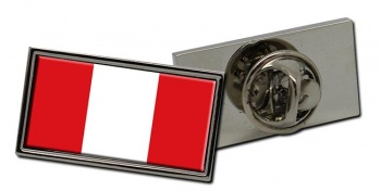 Peru Flag Pin Badge