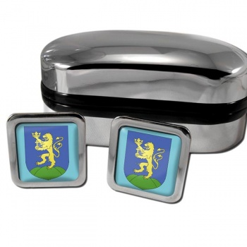 Pest Square Cufflinks