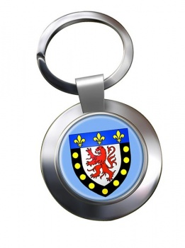 Poitiers (France) Metal Key Ring