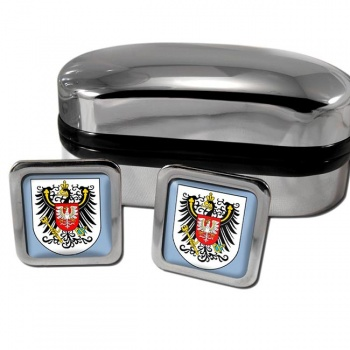 Posen Germany Square Cufflinks