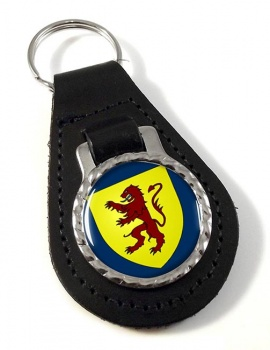 Powys  Leather Key Fob