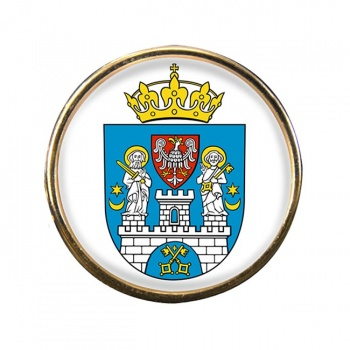 Poznan (Poland) Round Pin Badge