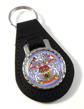 Prague Leather Key Fob