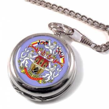 Prague Praha (Czech) Pocket Watch