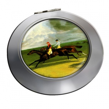 Racehorse Priam by Herring Chrome Mirror
