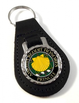 Pringle Scottish Clan Leather Key Fob