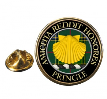 Pringle Scottish Clan Round Pin Badge