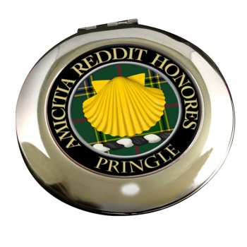 Pringle Scottish Clan Chrome Mirror