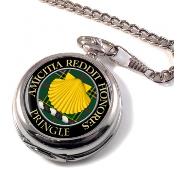 Pringle Scottish Clan Pocket Watch