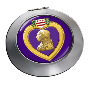 Purple Heart Chrome Mirror