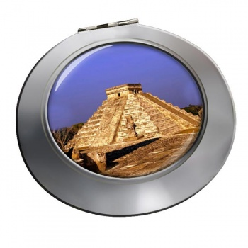 Pyramid Mexico Chrome Mirror