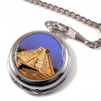 Pyramid Mexico Pocket Watch