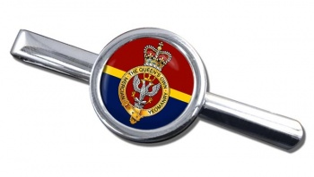 Queen's Own Mercian Yeomanry Round Tie Clip