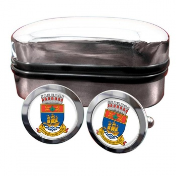 Quebec City (Canada) Crest Cufflinks