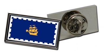 Quebec City (Canada) Flag Pin Badge