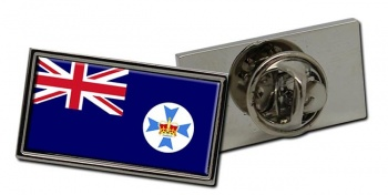 Queensland, Australia Flag Pin Badge