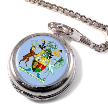 Queensland, Australia Pocket Watch
