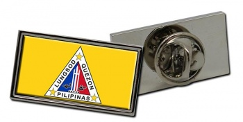 Quezon City (Philipes) Flag Pin Badge
