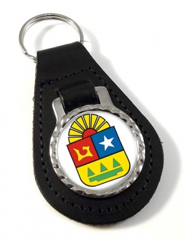 Quintana Roo (Mexico) Leather Key Fob